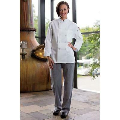 Women'S Chef Pant in Houndstooth - Small