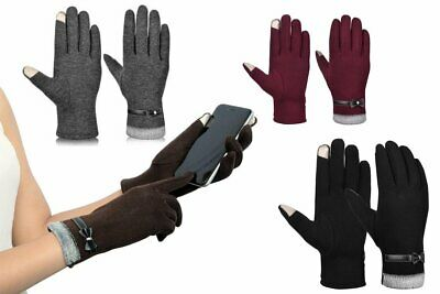 Gloves Women Thin Cotton Gloves Winter Touch Screen Hand Warmer