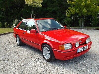 1989/G Ford Escort 1.6 XR3i - IMMACULATE - LAST OWNER 2012