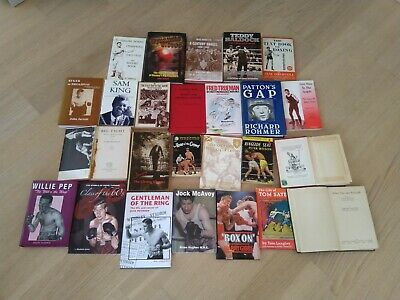 Boxing Books Collection Job Lot