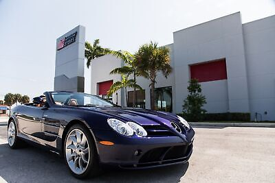 2008 Mercedes-Benz SLR McLaren SLR McLaren 2008 SLR MCLAREN - 1 OF ONLY 106 IN 08 - ULTRA RARE COLORS - BLACK CARBON