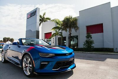 2018 Chevrolet Camaro SS Indy 500 Official Vehicle 2018 CAMARO 2SS INDY 500 OFFICIAL VEHICLE - 1 OF 6 - 607MI - HEAVILY OPTIONED