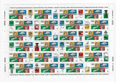 Canada Stamps - Full Pane of 24 - Industrial Design # 1654 - MNH