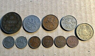 Lot#2 Finland Coins