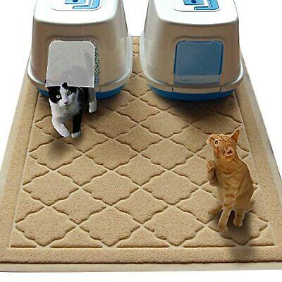 Jumbo Size Cat Litter Mat - (119 x 91 cm) - Extra Large Scatter Contro