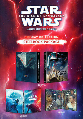 STAR WARS: THE RISE OF SKYWALKER (STEELBOOK), Blu-ray 2-DISC+BOOKLET, FULL SLIP