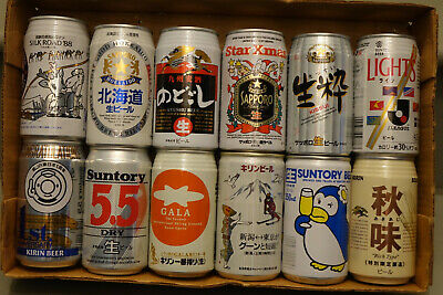 12 cans from Japan - Batch One - Suntory Penguin