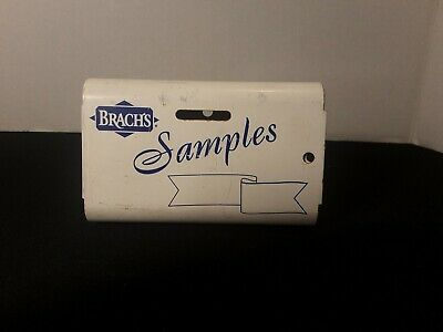 Vintage Brach's Metal Wall Mount Samples Payment Box