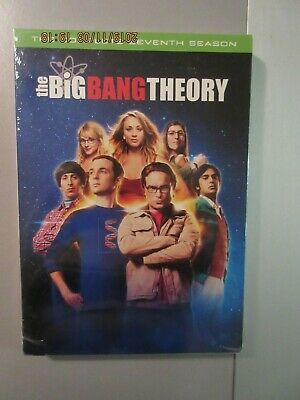 The Big Bang Theory: The Complete Seventh Season (DVD, 2014, 3-Disc Set)  Sealed