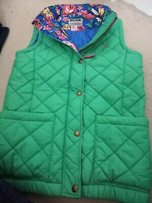 JOULES Quilted Gilet/Bodywarmer - Age 11-12 - Great Condition - Girl's