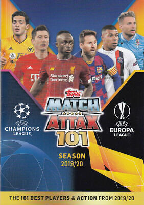 Match Attax 101 cards 2019/2020 100 clubs and other cards buy 1 get 1 free