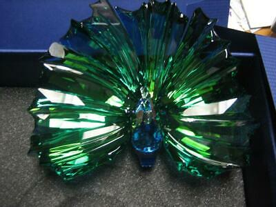 Swarovski Yearly Scs Piece Arya-The Peacock-Mint In Box-Ret 2015