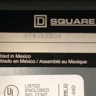 Square D 8903LXG30 Mechanically held Lighting Contractor