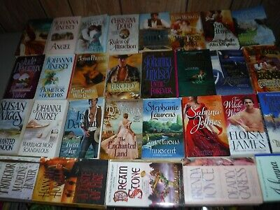 Huge Lot Of 29  Historical Romances By Assorted Authors  (Paperbacks,English)