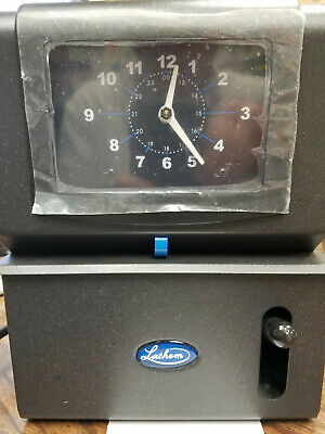 Lathem Time Clock 2101 Free Shipping in Continental US