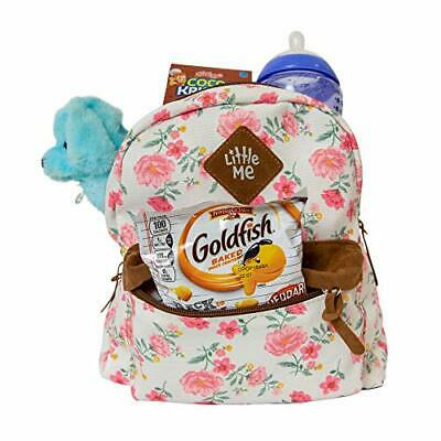 Little Me Backpack with Safety Harness Leash, Child Baby Toddler (Floral)