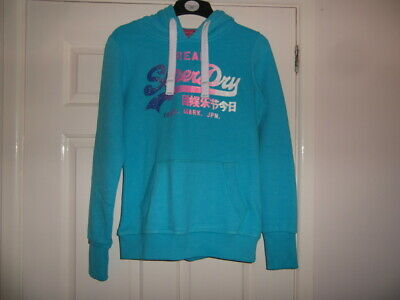 Superdry (Orange Label) New With Tags a size S and Turquoise in colour hoodie