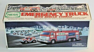 NIB 2005 HESS Emergency Truck with Rescue Vehicle
