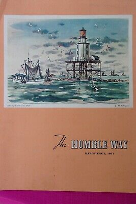 Humble Oil & Refining Co. 1951 Schiwetz Painting, Galveston Menard House