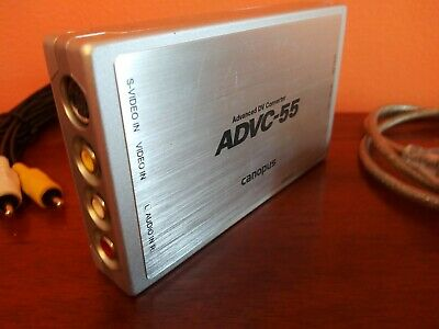 Canopus ADVC-55 Analog to Digital Video Converter with 60-Day Warranty 110 300