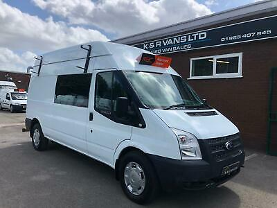 2012 FORD TRANSIT 350 2.2 TDCi LWB MESS VAN WELFARE UNIT 6 SEATER 1 OWNER