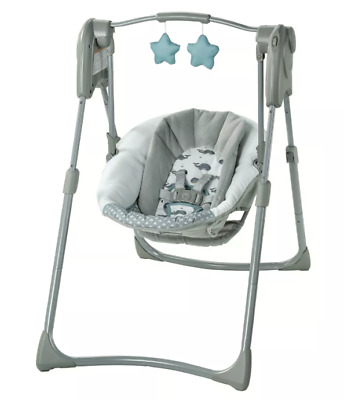 Graco Slim Spaces Compact Baby Swing - Humphry NEW