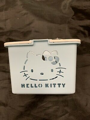 Sanrio Hello Kitty Mini Shopping Basket Trinket Plush