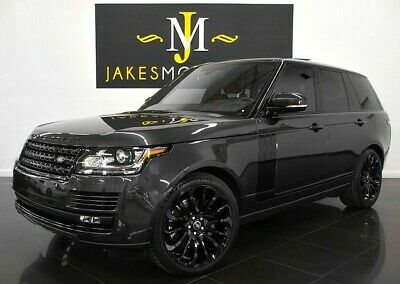 2016 Land Rover Range Rover Supercharged ($114,580 MSRP) **ONLY 23K MILES** 2016 Range Rover Supercharged~$114,580 MSRP~BLACKOUT PACKAGE~ 23K MILES~WARRANTY