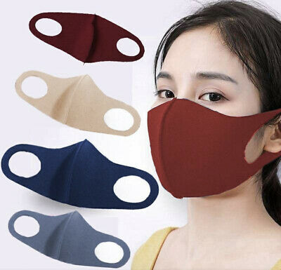 Face Mask - Unisex Adult Washable Breathable Stretch Reusable Spandex 3D Fashion