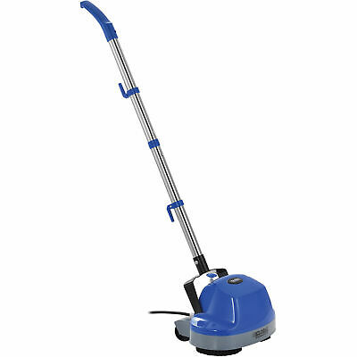"Mini Floor Scrubber W/ Floor Pads, 11"" Cleaning Path"