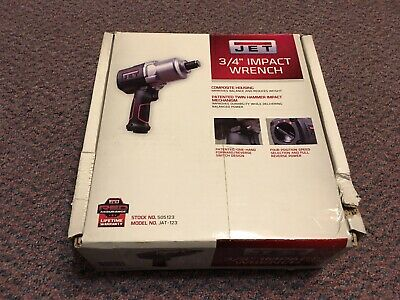 """JET 505123 R12 3/4"""" Impact Wrench New"""