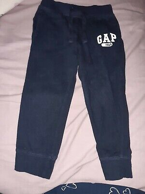 Boys Age 3 Years navy Jogging Bottoms from GAP