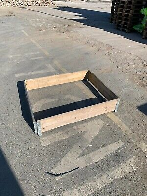 pallet collar flower bed veg patch
