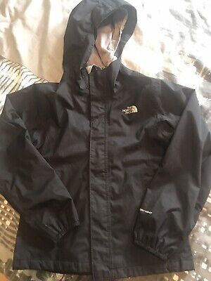 North Face Girls Black Jacket Lightweight Size S/P