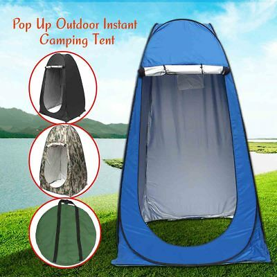 Portable Pop Up Tent Camping Dressing Room Privacy Changing Toilet Beach Shower