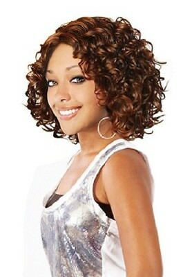 Magic Gold Marry Synthetic Wig (Color #4/30)