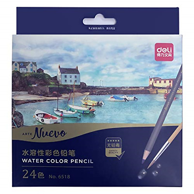 Morcoo 24 colours Adult Colouring Pencils for Drawing Colouring books Pencils