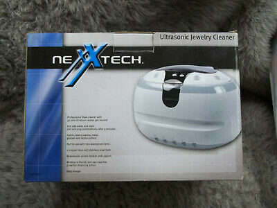 Nexxtech Ultrasonic Cleaner For Jewelry Eyeglasses Dental - Brand New