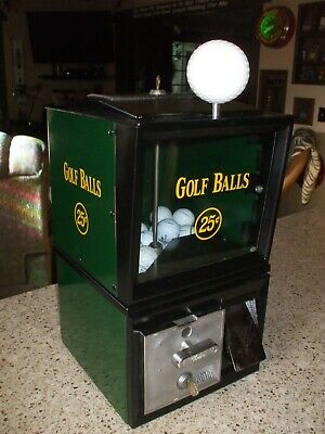 1950's Victor Golf Ball Vending Machine sporting goods mancave