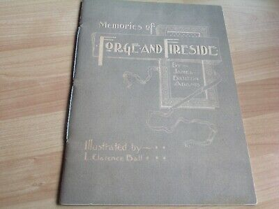 "Rare 1800'S  Studebaker Booklet ""Memories Of Forge & Fireside"""