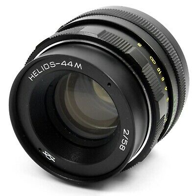 Helios 44M 58mm f/2 Standard Prime Lens with M42 Mount