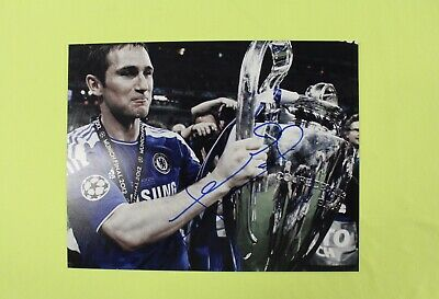 FRANK LAMPARD signed Autograph 11x14 Chelsea England new york Soccer Football