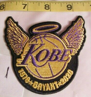 Los Angeles Lakers Kobe Bryant 1978-2020 Patch - Iron On/Sew On (#1)