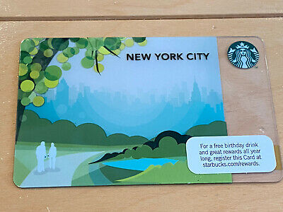 """Canada Series Starbucks /""""CONGRATS 2019"""" Gift Card WITH BLACK MAG STRIPE New"""