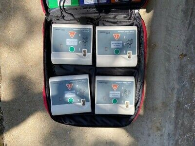 4 Pack WNL AED trainer Practi-Trainer Essentials - Small & easy to use