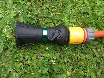 Blasting Super Jet Sprayer Nozzle Hose Adjustable Attachment Garden Watering