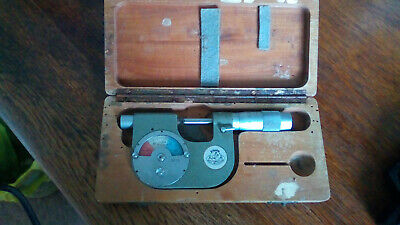 "Vintage Etalon Rolle Swiss Micrometer 1"" Engineering Precision Measuring No 3873"