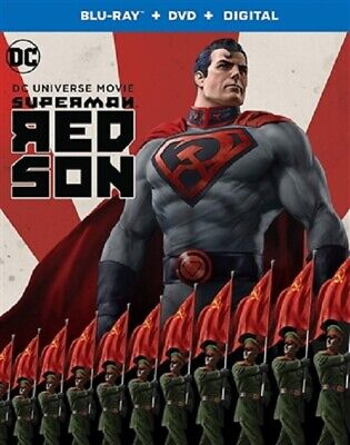 Superman: Red Son 02/20 (used) Blu-ray Only Disc Please Read