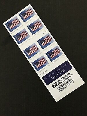 USPS Not Perfect Flag Forever Stamps Book Of 20 $11.00 Face Value Big savings