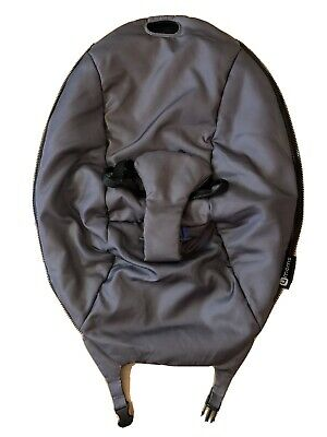 4 Moms Replacement For BouceRoo  Infant Seat Cover Color Gray Model :1030